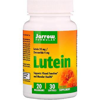 Jarrow Formulas, Lutein, 20 mg, 30 Softgels