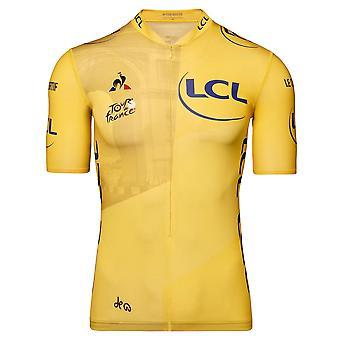 Tour de France Le Coq Sportif Men's Replica Arrivee Jersey | Yellow | 2020