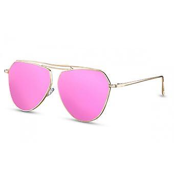النظارات الشمسية المرأة الطيار Cat.3 الذهب / الوردي (CWI1391)