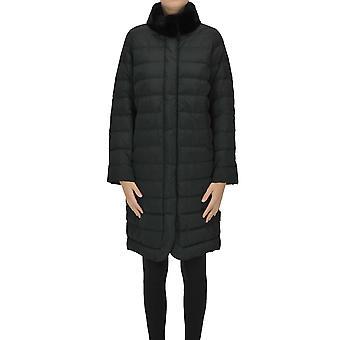 'S Max Mara Ezgl137113 Femmes's Black Nylon Down Jacket