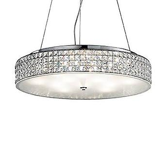12 Light  Large Ceiling Pendant Chrome, G9