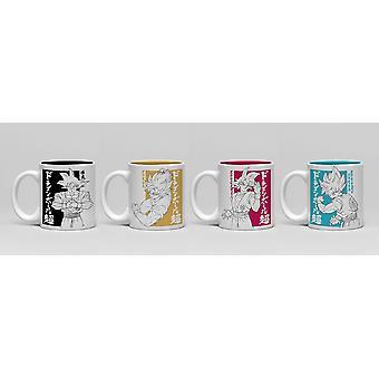 Dragon Ball Super Goku Espresso Mug Set