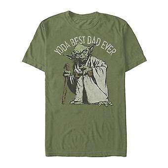 Yoda Best Dad Ever Star Wars Father's Day T-Shirt