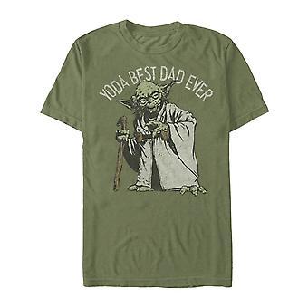 יודה אבא הטוב ביותר אי פעם מלחמת הכוכבים אבא & apos;s יום חולצת טריקו