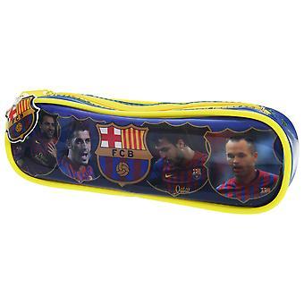 FC Barcelona Children/Kids Giocatori ufficiali di calcio PVC Pencil Case
