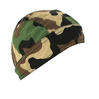 Balboa Z118C 100% Cotton Flydanna - Woodland Camouflage
