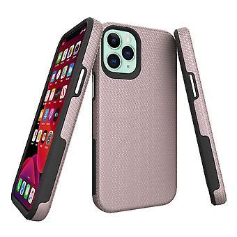 Für iPhone 12 Mini Case Rüstung Stoßfest starke leichte schlanke Abdeckung Rose Gold