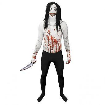 Morph Costumes Halloween Fancy Dress Costume Adult - Jeff The Killer