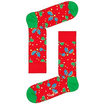 Happy Socks Holly Socks - Red