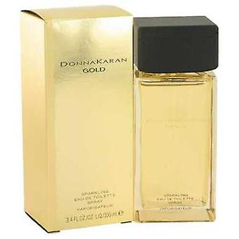 Donna Karan Gold Sparkling By Donna Karan Eau De Toilette Spray 3.4 Oz (women) V728-524635