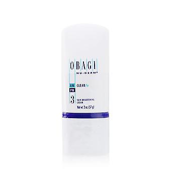 Nu Derm Clear Fx Skin Brightening Cream - 57g/2oz