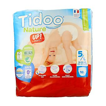 Diapers Size 5 L (12-18 kg) 18 units (T5 Junior (12-18 kg))