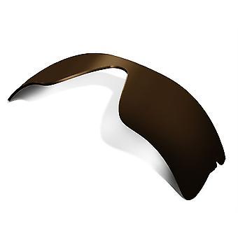Polarisierte Ersatzlinsen für Oakley Radar Range Sonnenbrille Anti-Scratch Brown