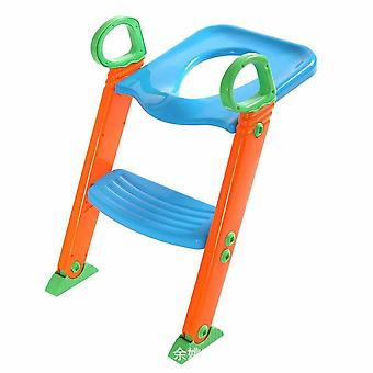 Ladder With Folding Seat For Toilet / Potty