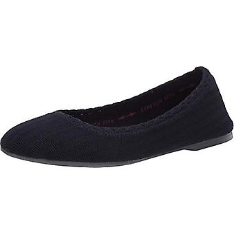 Skechers Women'ق الأحذية كيسي-ويفرلي النسيج مغلقة الشقق شريحة