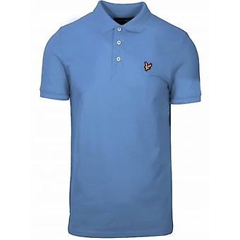 Polo Bleu pâle Lyle & Scott