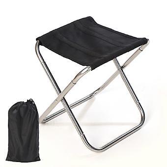 Foldable Aluminium Camping Chair Folding Fishing Chair Lightweight Beach Chair Outdoor Furniture