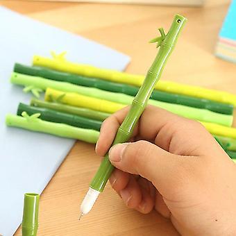 Penna gel di bambù verde