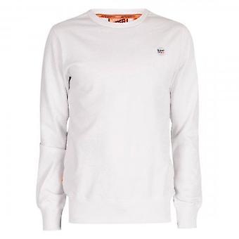Superdry Collective Logo T-Shirt à manches longues Blanc 01C