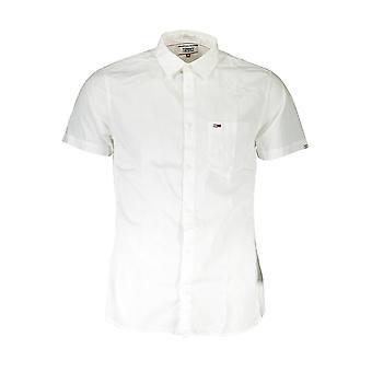 تومي هيلفيغر قميص قصير الأكمام الرجال DM0DM07923