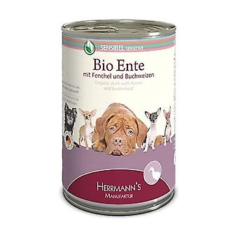 Wet Food for Dogs Duck with fennel None