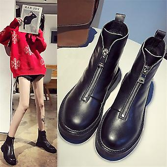 New Casual Winter Hot Genuine Leather Fashion Comfortable Soft Tube Boots