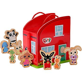 Bing Wooden Carry Along with Characters Playset
