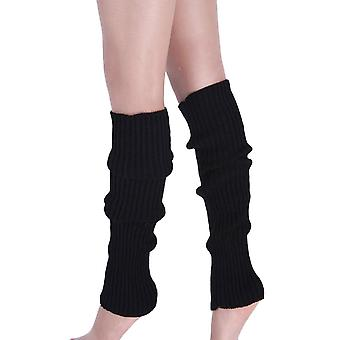 Boot Cuffs Warmer Knit Leg Stockings Knitted Over The Knee Socks Cotton