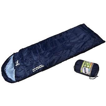 Turister sovsäck mamma täcke Cool marinblå