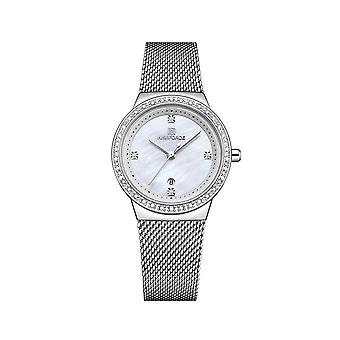 Naviforce Ladies Homage Quartz Watch Silver Dress Watches Fashion Designer Gift