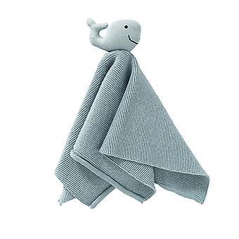 Fresk Cuddly Tissue Whale Blue