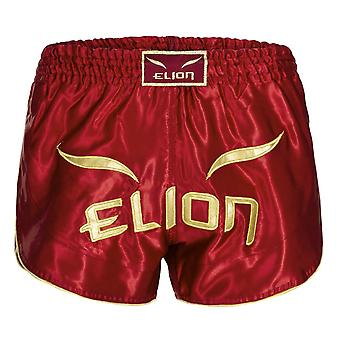 Elion Muay Thailändska Shorts Bordeaux