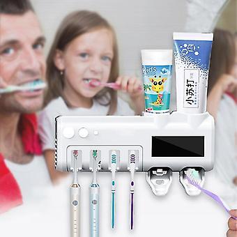 Automatische Solarenergie Uv Light Zahnbürste Sterilisator Badezimmer Zahnbürste