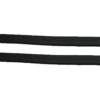 Oakfield Rubber Reins - Black