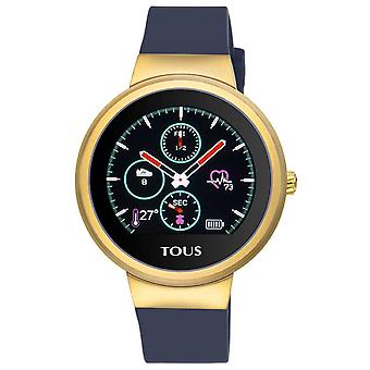 Tous watches rond watch for Women Analog Quartz with Silicone Bracelet 000351685