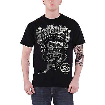 Gas Monkey Garage T Shirt Big Brand GMG Logo new Official Mens Black