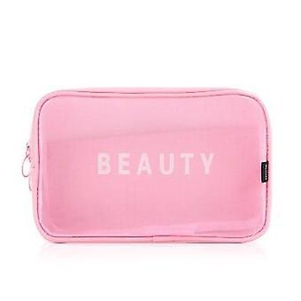 Travel Cosmetic Women Zipper Make Up Transparent Makeup Case Bag