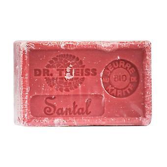 Marseille soap - sandalwood + organic shea butter 1 unit