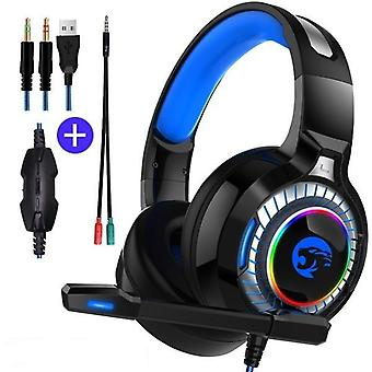 Ps4 Gaming, Headphones 4d Stereo & Earphones Headset With Microphone