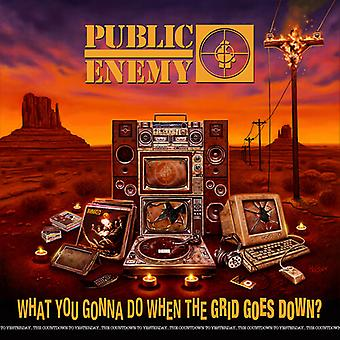 Public Enemy - What You Gonna Do When The Grid Goes Down [Vinyl] USA import