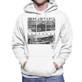 Ford Mustang Fastback Logo Heren Sweatshirt met Capuchon