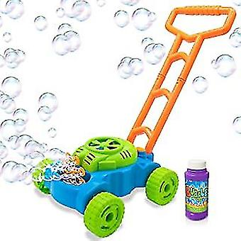 Outdoor Hand push music automatic bubble making car