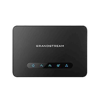Grandstream Ht812 Fxs Ata 2 Port Voip Gateway Dual Gbe Network