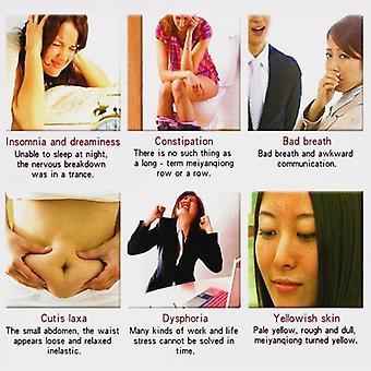 Kaulan lymfaattinen detox-laastari Turvotuksenesto yrttijalka kehon rentoutuminen (kuten