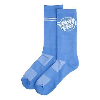 Santa Cruz Opus Dot Stripe Socks - Washed Navy