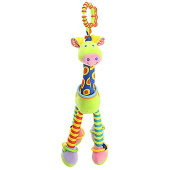 Baby Crib Hanging Toy 0-1 Year Old Safety Teether Giraffe Bed Bell