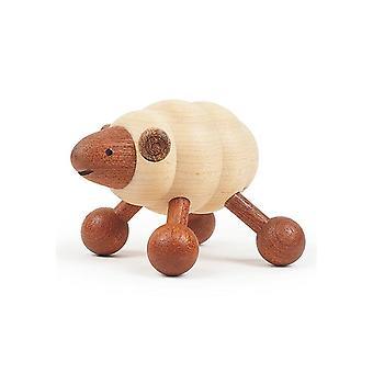 Wooden Sheep Massager Cartoon