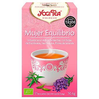Yogi Tea Woman Equilibrium 17 Sachets