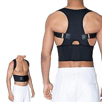 Universal humpback correction brace posture corrector for adults adjustable clavicle back shoulder lumbar support belt strap spi