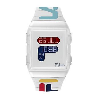 Relógio misto FILA digital discagem branca - 38-105-007
